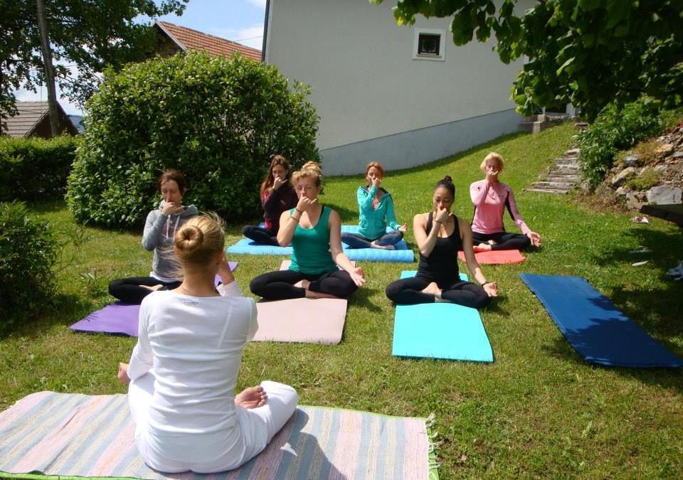 Yoga Week in the Julian Alps