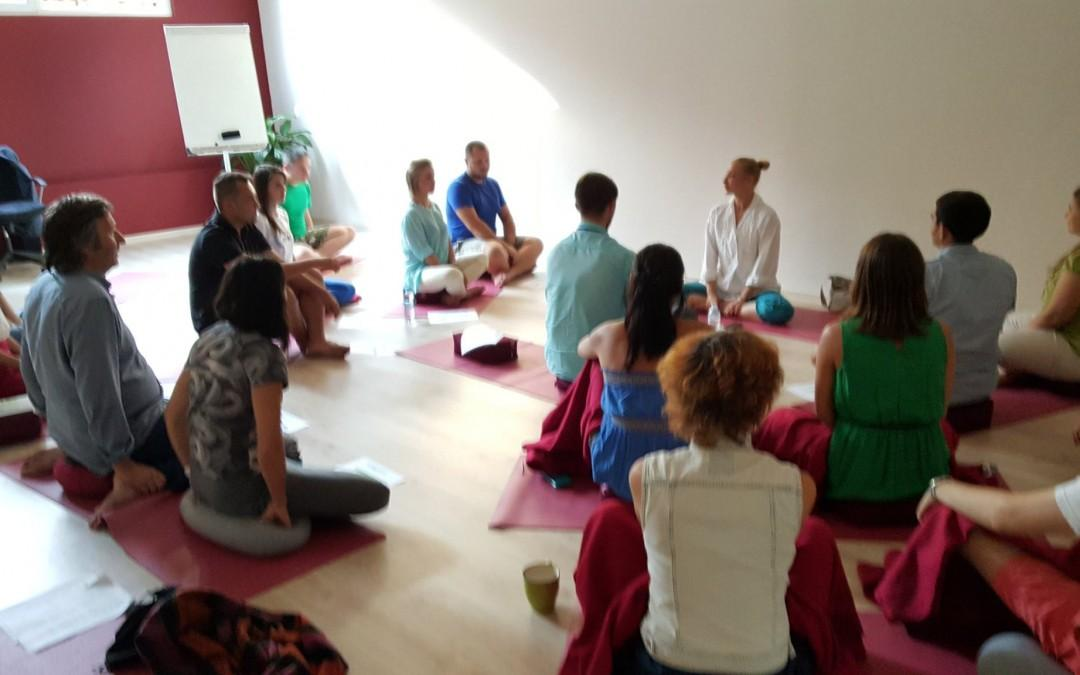 Seminar on Yoga & Buddhism in Ukraine