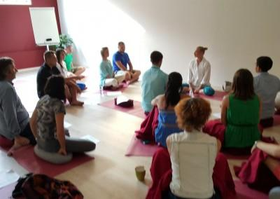 Seminar on Yoga & Buddhism in Ukraine